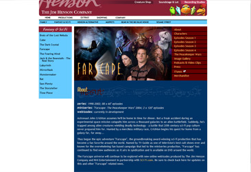 Farscape Official site